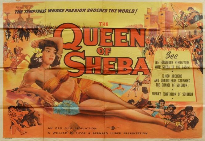 Queen of Sheba - Original Film Poster