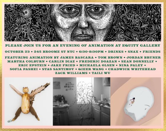 A Night of Spooky Animation At Equity Gallery: Image 0