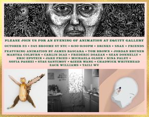A Night of Spooky Animation At Equity Gallery
