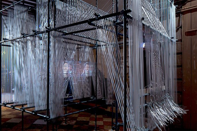 Erika Tan, The 'Forgotten' Weaver, 2017, film installation ©Erika Tan
