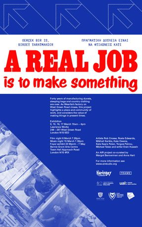 A Real Job is to Make Something: Image 0