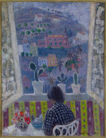 Anne Redpath, Window in Menton, 1948 copyright the artists Estate/Bridgeman Art Library. Courtesy Fleming-Wyfold Foundation