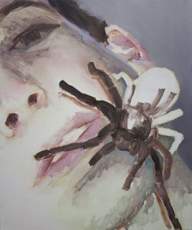 'Tarantula', 2019, oil on canvas