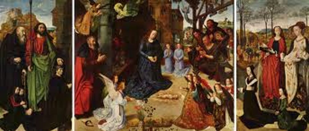A Seasonal Masterpiece for Christmas - The Portinari Altarpiece by Hugo van der Goes, 1475: Image 0
