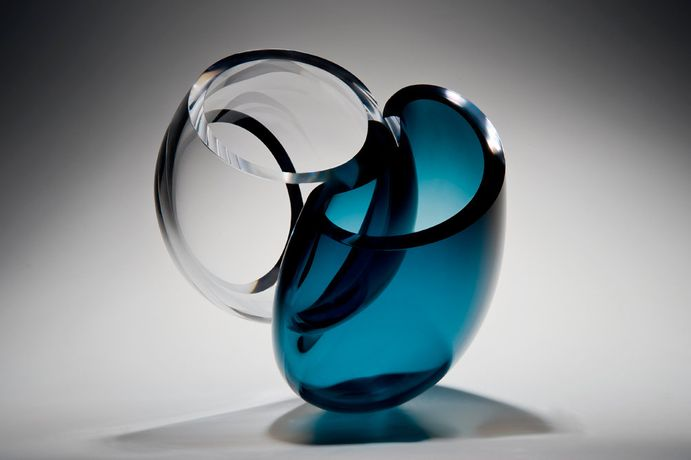 Laura Mcklinley, 'Symbiosis' 2015, Freeblown glass, hot fused, cut and polished