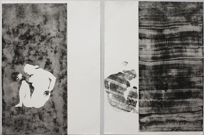Rushka Gray, 'Impossible Bodies' 2015, Mono Print Etching on Paper