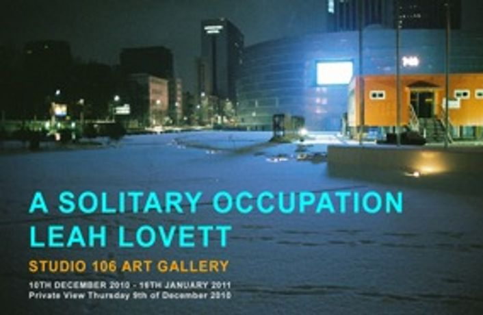 A Solitary Occupation by Leah Lovett: Image 0