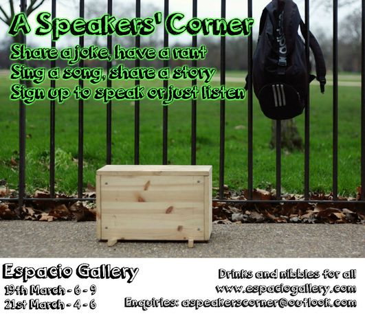 A Speakers' Corner: Image 0