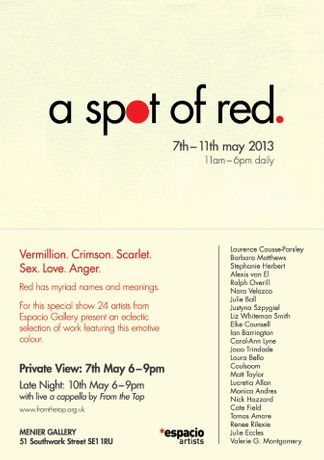 A Spot of Red: Image 0
