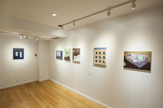 Installation view of A Stranger in Brooklyn