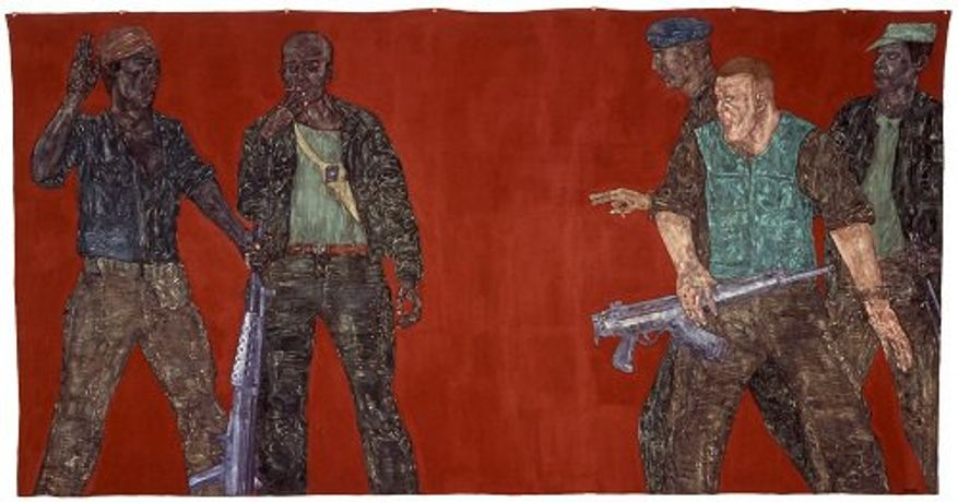 Mercenaries IV, Leon Golub