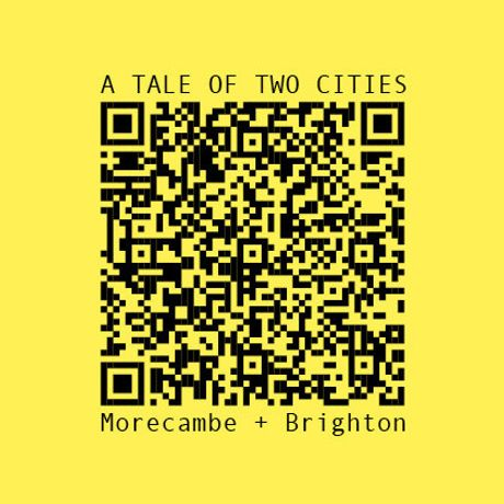 Find, scan and share these QR from selected streets for Hack Morecambe Festival 2018