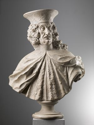 Antonio Gai (1686-1769), Bust of Giovanni Emo, marble. Courtesy of Brun Fine Art.