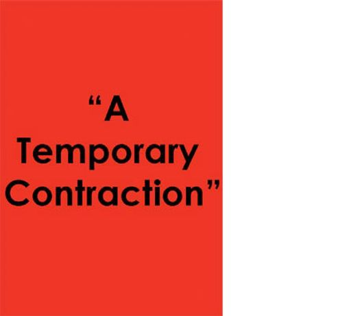 A Temporary Contraction: Image 0