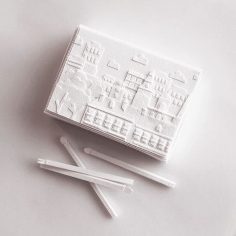 White Matchbox by Laura Sayers