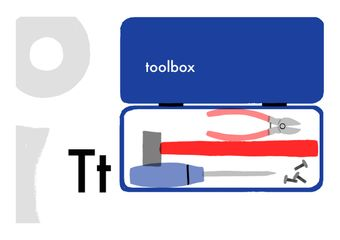 A to Zakka, T is for toolbox