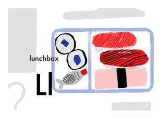 A to Zakka, L is for lunchbox