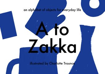 A to Zakka cover, by Charlotte Trounce