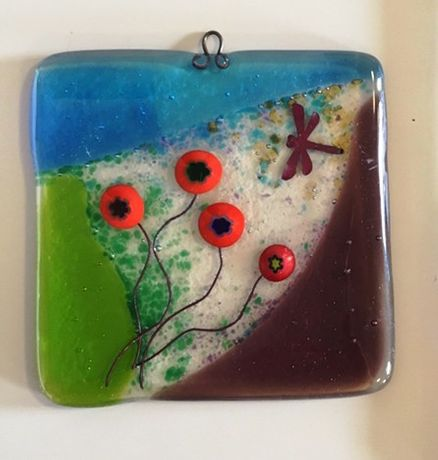 Fused Glass at Valentines Mansion