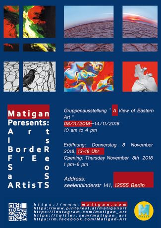 Matgian Berlin fine art group exhibition november 2018