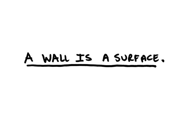 A Wall is a Surface: Image 0