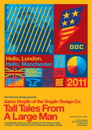 Aaron Draplin - Tall Tales from a Large Man
