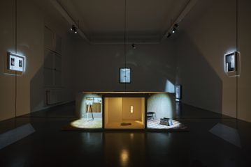Send Cycle – Installation view
