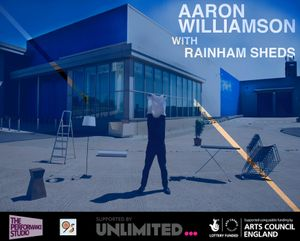 Aaron Williamson with Rainham Sheds Demonstrating the World