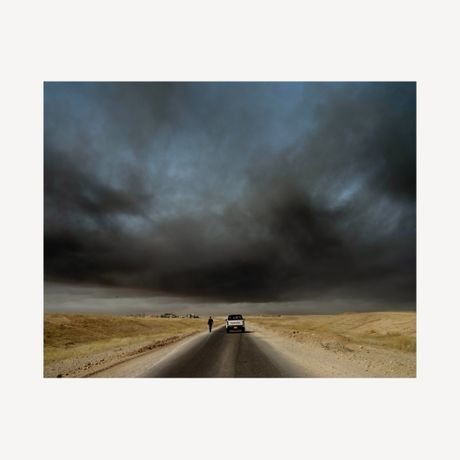 The Road to Mosul. November 2016 c-type, edition of 7, 30.5 x 37.5 cm