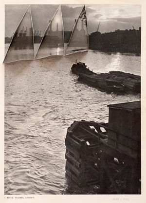 Abigail Reynolds Battersea Power Station 1957 | 1956 2016 found book pages 31,5 x 21,5 cm