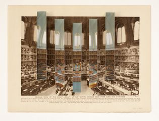 Abigail Reynolds, The British Library Reading Room 1923 / 1986