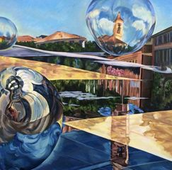 'Balloon over Paillon' by Dido Powell
