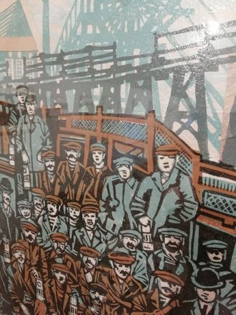 Above & Below: Paintings and Linocuts of Mining and Miners by John Scott Martin: Image 2