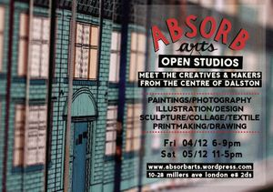 Absorb Arts Christmas Open Studios
