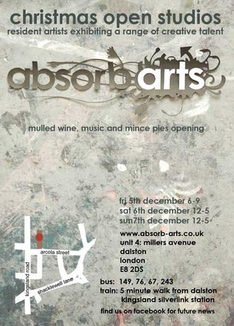 Absorb Arts Christmas open studios: Image 0