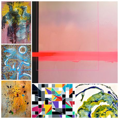 Abstract Art Group Exhibition