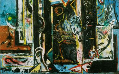 Jackson Pollock, Male and Female, 1942-43.