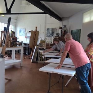 Abstraction. Drawing & Painting masterclass with Chris Hann