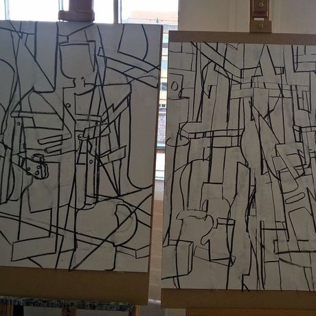 Abstraction. Drawing & Painting masterclass with Chris Hann: Image 2