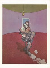 Bacon Lithograph in colours 1966