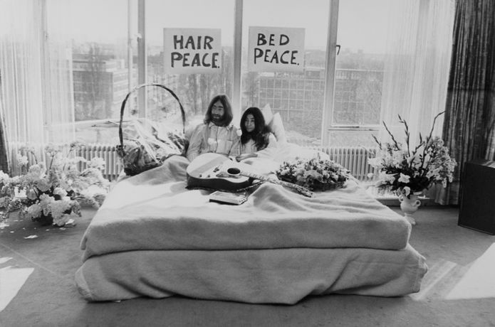 Yoko Ono & John Lennon: Bed Piece (1969). Courtesy the artists. (c) 1969 Yoko Ono Lennon