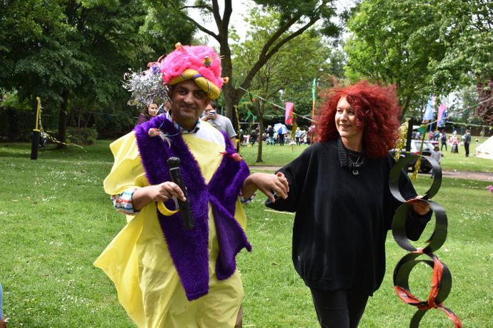 Pop-up Pardip at Heathbrook Park