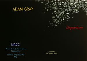 Adam Gray: Departure