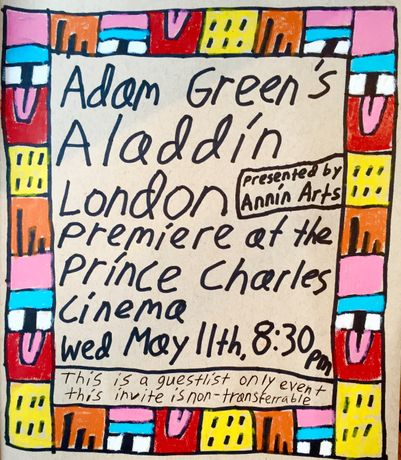 Adam Green's Aladdin premiere presented by Annin Arts: Image 0