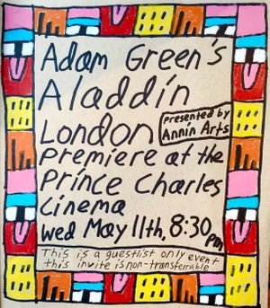 Adam Green's Aladdin premiere presented by Annin Arts