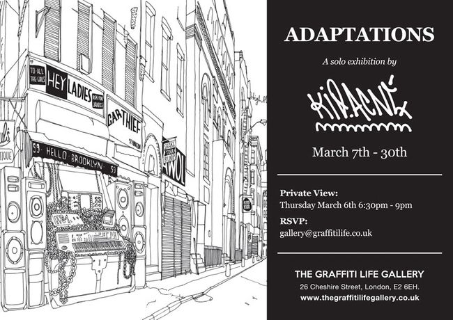 Adaptations | A Solo Show by Kid Acne: Image 0