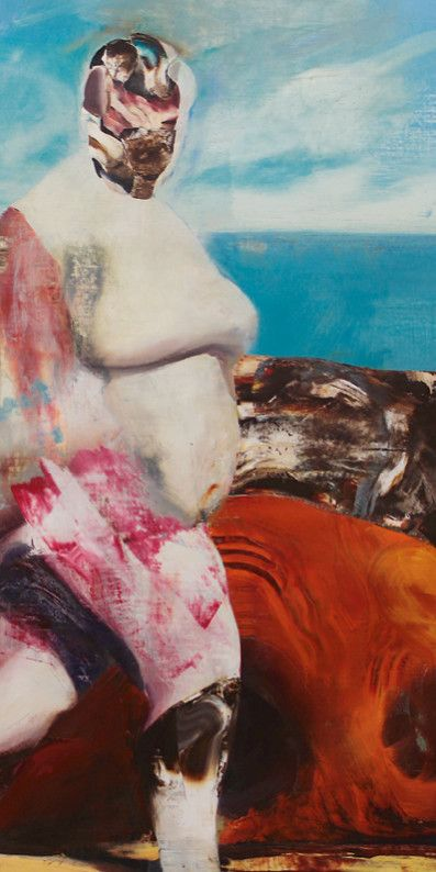 Marks Near Me >> Adrian Ghenie. The Graces - Exhibition at Galerie Judin in Berlin