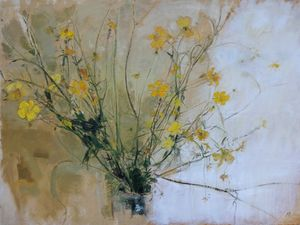 Buttercups by Adrian Parnell at Axle Arts