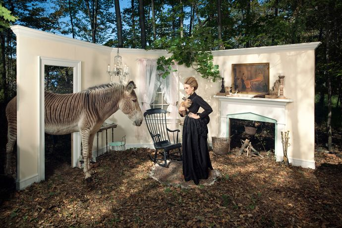Adrien Broom, Eleventh Hour, 2011, dye sublimation print on aluminum (photograph), 