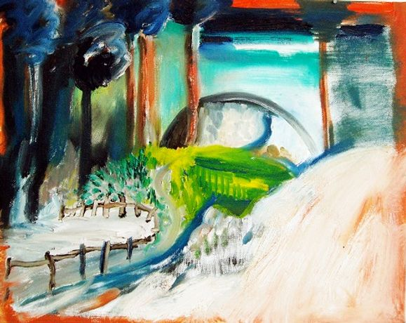 Adult workshop: Acrylic painting with artist Anna Ilsley: Image 0